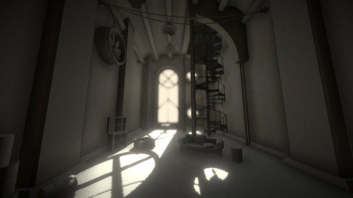 Xemeneia Preview 3D Model