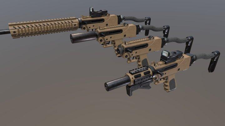 MPA930DMG 9mm Pistol 3D Model
