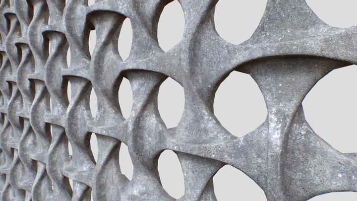 Vienna Church Panel 3D Model