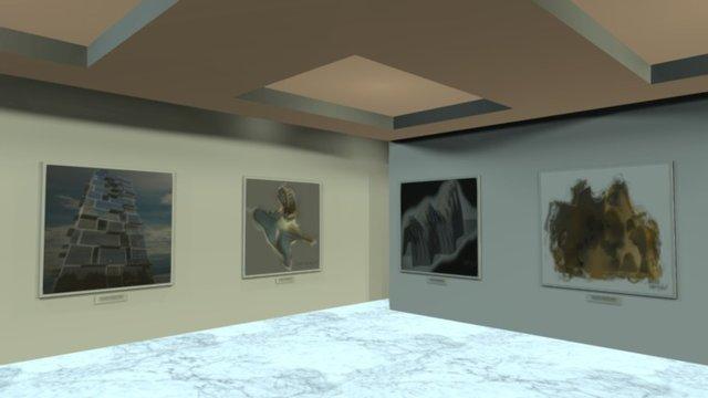 Instamuseum for @vugreshek 3D Model