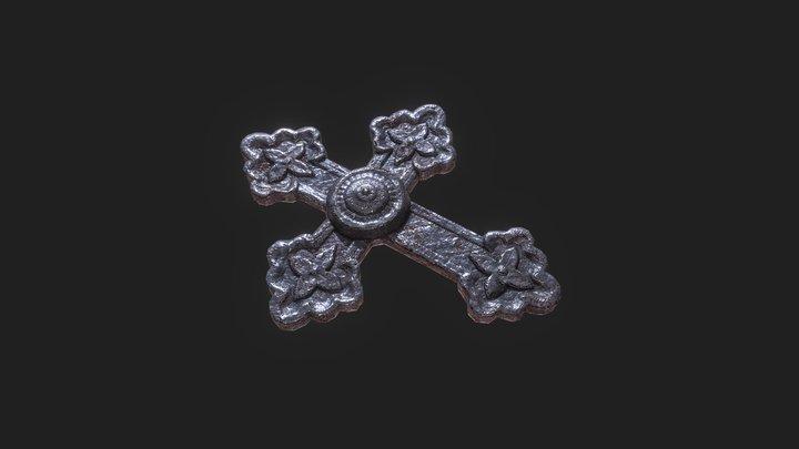 Medieval Christian cross 3D Model