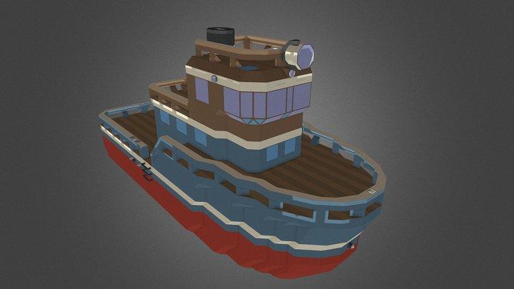 Argos Starter Boat - Stormworks 3D Model