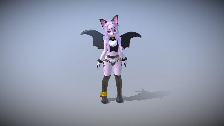 Claire 3D Model