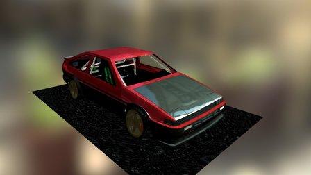 AE 86 3D Model