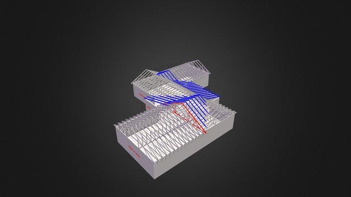 Roof Model 3D Model