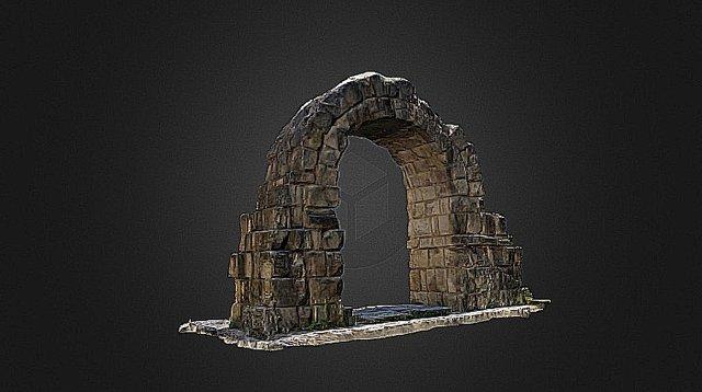 Porta Montanara Rimini 3D Model