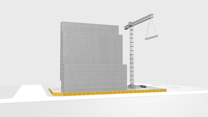 budynek1 3D Model