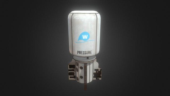 Water cistern 3D Model