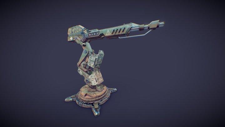 Gun04 3D Model