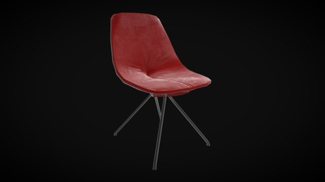 anydrift.com Armchair10 low poly 3D Model