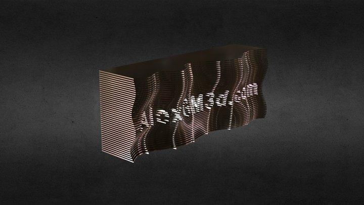 стойка 3D Model