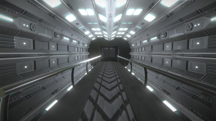 (Sci fi) Level design 3D Model