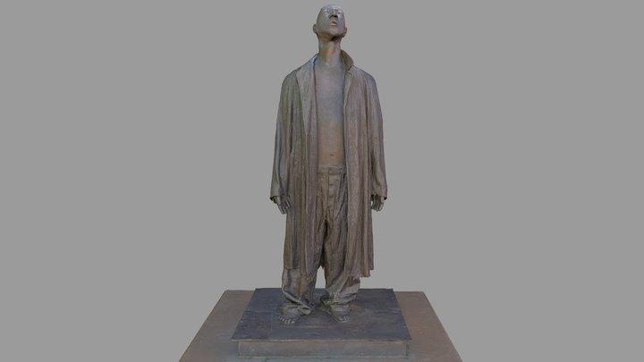 """IUPUI Public Art - """"Job"""" 3D Model"""