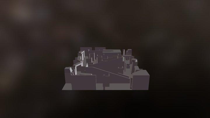 Bottom Floor 3D Model