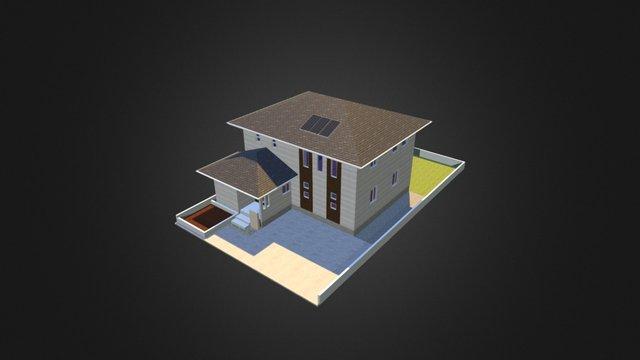110 sq.m 3D Model