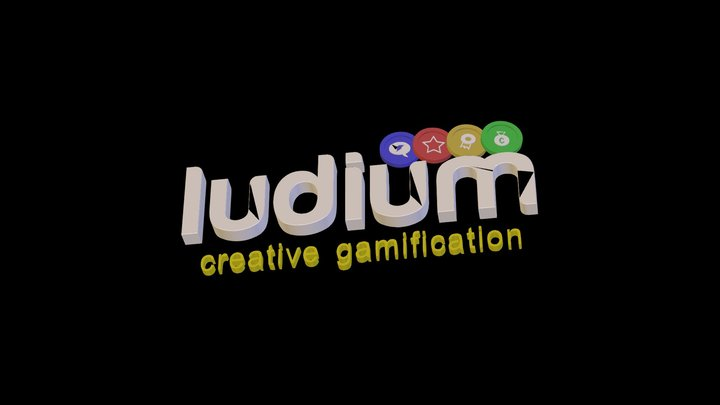 Logo Ludium 3D Model