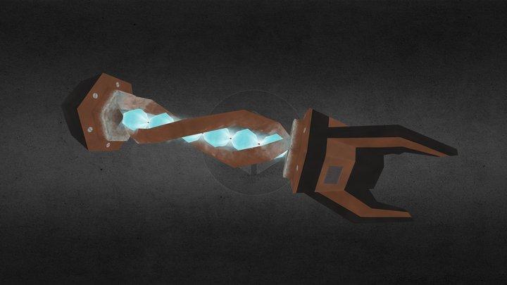 Ice Rocket 3D Model