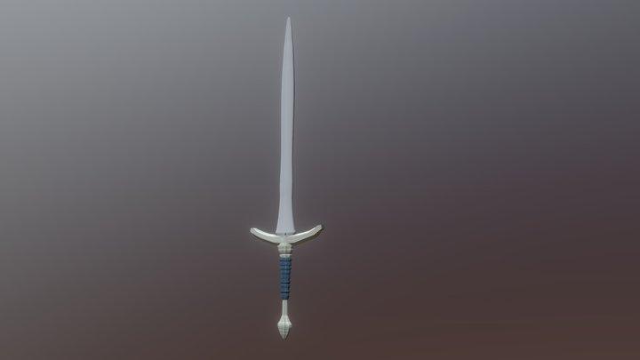 Gandalf's Sword 3D Model