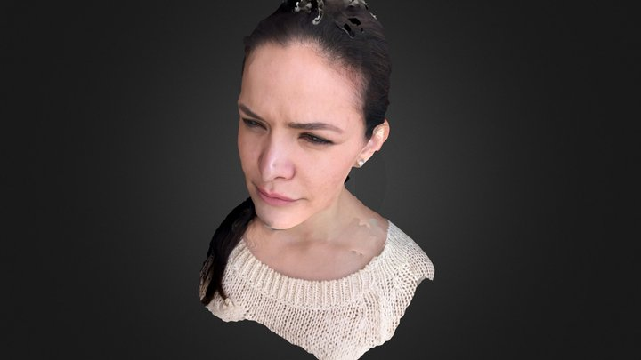 Face Scan example 3D Model