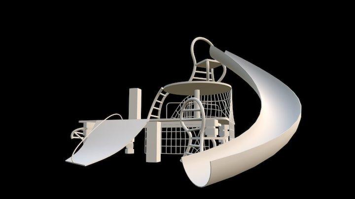 SFL001 Playground Test 001 3D Model
