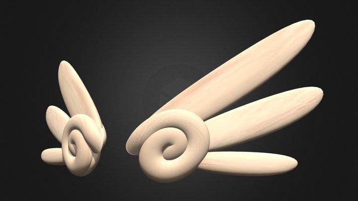 Wings - Alas 3D Model