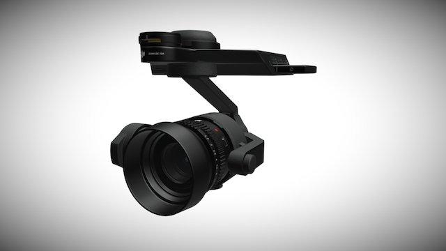 DJI ZENMUSE X5R 3D Model
