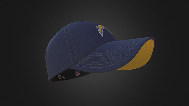 Hat - San Diego Chargers (New Era) 3D Model