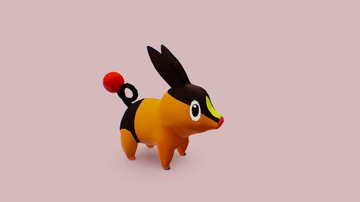Tepig - Pokemon 3D Model