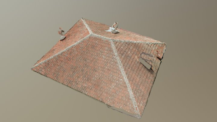 Small Roof model 3D Model