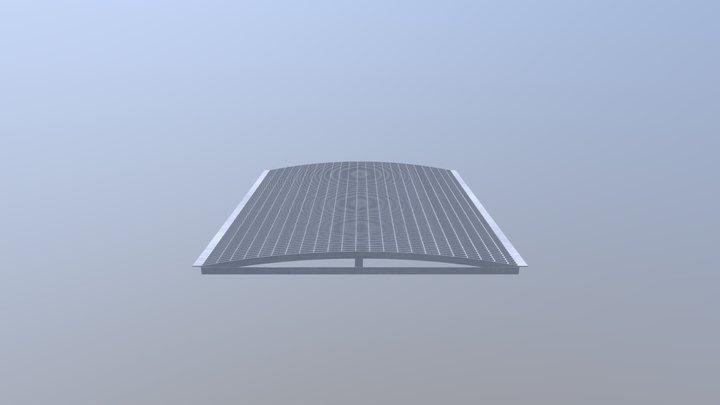 پل گریتینگ محدب 3D Model