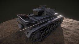 Pz.III Ausf. G 3D Model