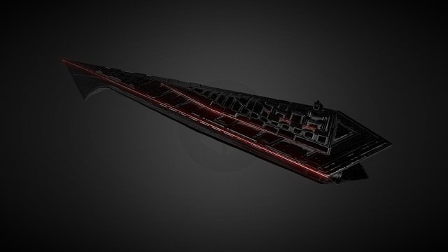 Eclipse Class Star Destroyer 3D Model