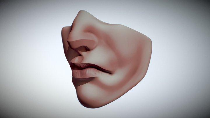 Sculpt January - Day 1 3D Model