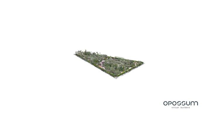 Parque Hernandez Melilla Nube de Puntos 3D Model