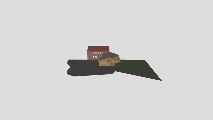 Anbau Garage 3D Model