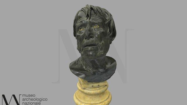 Busto del cd. Pseudo-Seneca 3D Model