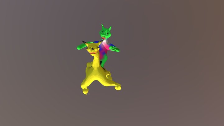 Detective Pikachu 3D Model