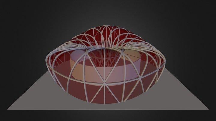 G3 Dmitry Valkovskiy Pabellon De Musica 3D Model
