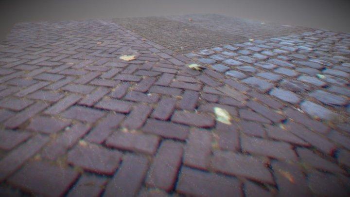 Pavement Section 3D Model
