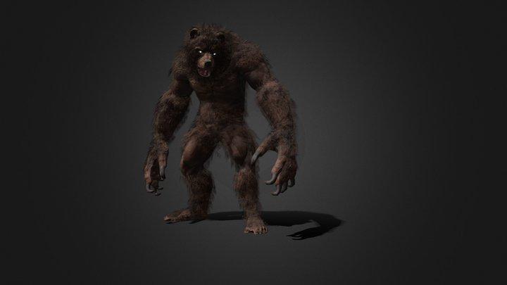 Werebear 3D Model