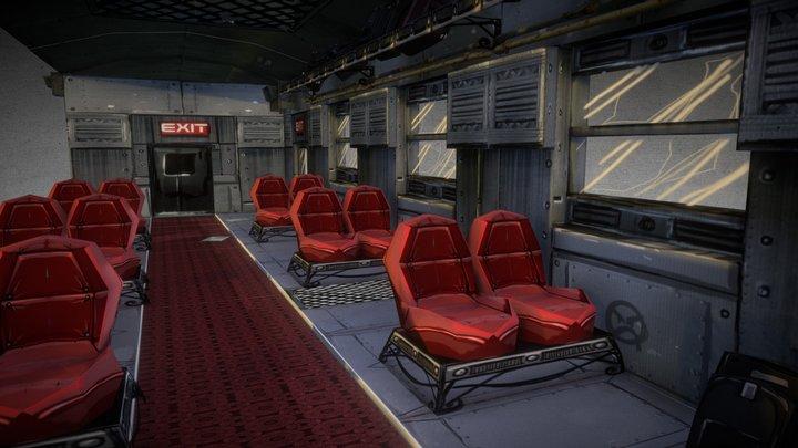 train level 3D Model