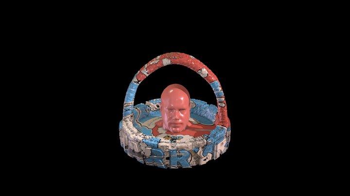 Self-Portrait as Ashtray 3D Model