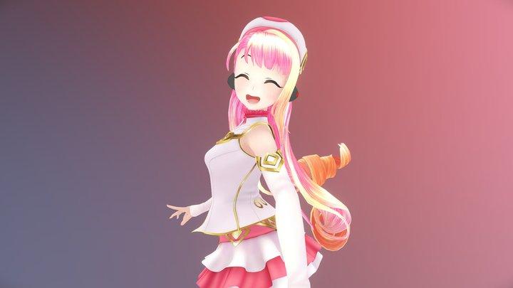 奇漾少女 夏日葵 3D Model