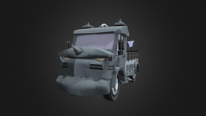 Alphonse Elric Unimog Truck 3D Model