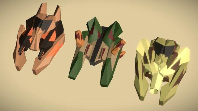 Beige buccaneers 3D Model