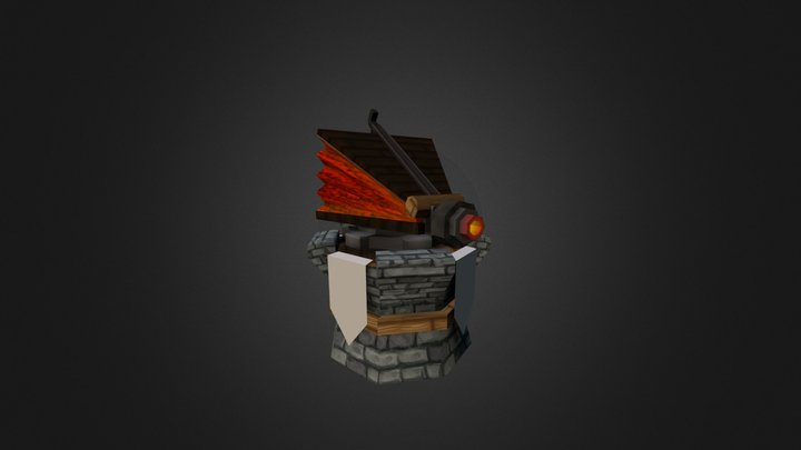 Firetower Level2 3D Model