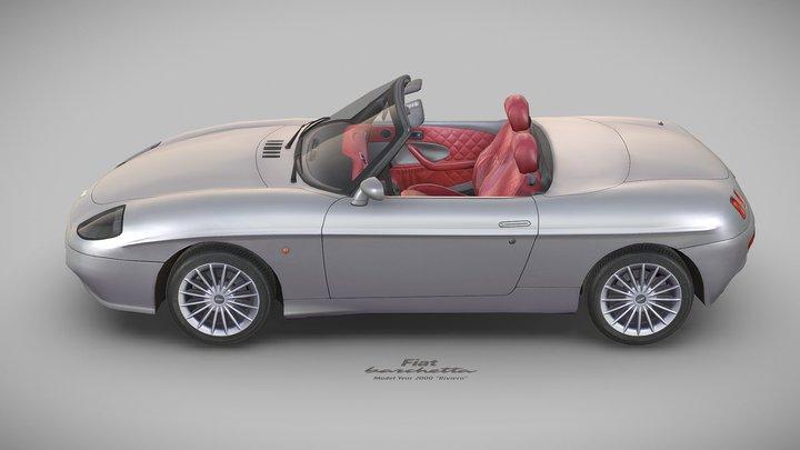"""Fiat Barchetta """"Riviera"""", 2000 3D Model"""