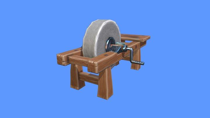 Grindstone Reworked 3D Model