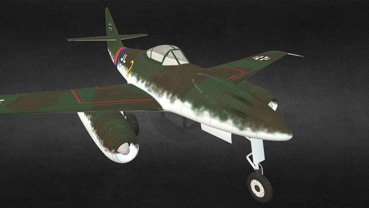 Messerschmitt Me-262 Schwalbe 3D Model
