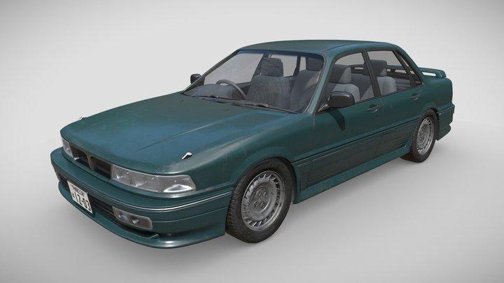 Mitsubishi Galant 6 3D Model